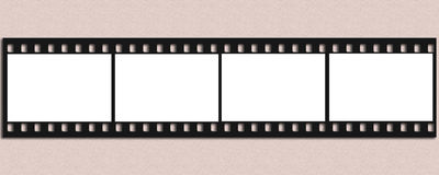Film Strip. Blank Film Strip in  background Stock Photography