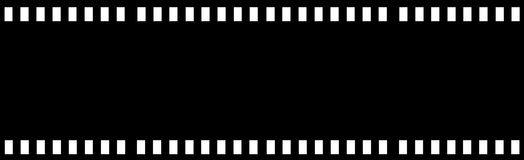 Film Strip. Isolated in white Stock Image