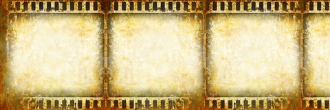 Film strip. On a light background Stock Photography