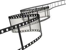 Film strip. Isolated on white Stock Photo
