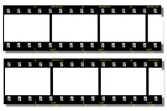 Film Strip. With film number from 1 to 6 and shadow Royalty Free Stock Image