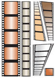 Film strip. Vector illustration on white background Royalty Free Stock Photos