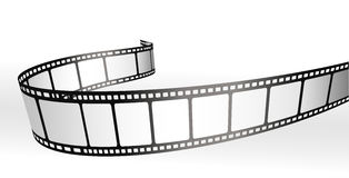 Film strip. Black and white vector Stock Photos