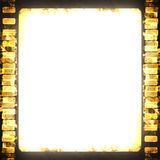 Film strip. On a grunge like background Royalty Free Stock Image