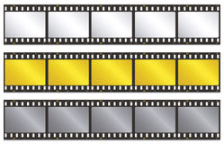Film strip. Vector illustration of film strip Royalty Free Stock Images