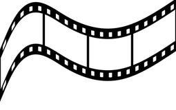 Film strip. 4 frames on a film strip Stock Photos