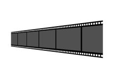 Film strip. On a white background Stock Image
