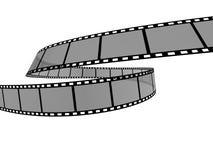 Film Strip 9. 3d film strip. White background Stock Images