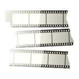 Film strip. Vector illustration of a film strip Stock Photo