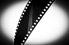 Film Strip Abstract Royalty Free Stock Image