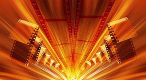 Film strip abstract Stock Image