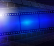 Film strip abstract background Royalty Free Stock Image