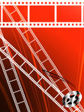 Film strip abstract background Royalty Free Stock Photography