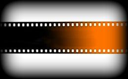 Film strip as background. Royalty Free Stock Photos