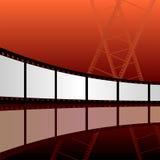 Film strip background Stock Photo