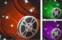 Film strip background. Original Vector Illustration: Film strip background Royalty Free Stock Photo