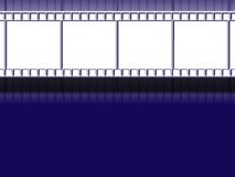 Film strip background. Background / wallpaper with film strip Stock Photo