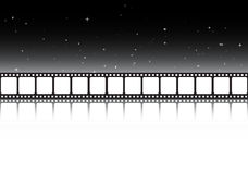 Film strip background banner. Film strip illustration Royalty Free Stock Image