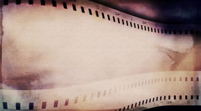 Film strip background Stock Images