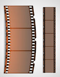 Film strip background. Vector illustration Royalty Free Stock Photos