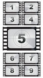 Film strip backgrounds. Vector illustration Royalty Free Stock Photo