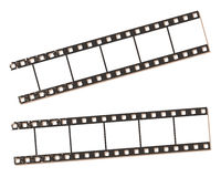Film strip banners, vector illustration. Stock Images