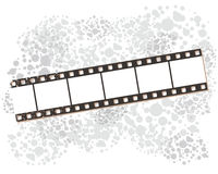 Film strip banners, vector illustration. Stock Photography