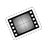 Film strip blank cinema movie image Stock Photo