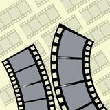 Film strip. Colorful illustration with film strip for your design Stock Images
