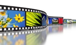 Film Strip Concept Royalty Free Stock Photo