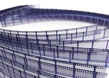 Film strip. (depth of field Royalty Free Stock Photo