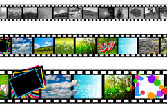 Film strip Royalty Free Stock Images