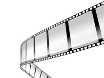 Film strip. Isolated on white background Royalty Free Stock Photo