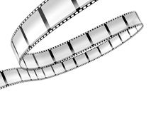 Film strip. Isolated on white background Stock Photo