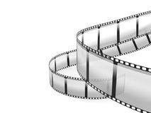 Film strip. Isolated on white background Royalty Free Stock Photos