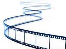 Film strip. On white background. 3d rendering illustration Royalty Free Stock Image