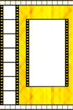 Film strip frame Royalty Free Stock Image