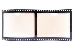 Film Strip Frame. Film Strip Photo Frame on white background Stock Photos