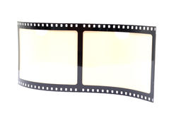 Film Strip Frame. Film Strip Photo Frame on white background Royalty Free Stock Photo