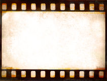 Film strip frame background. Grunge film strip frame background Royalty Free Stock Photography