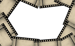 Film strip frame background Stock Photo