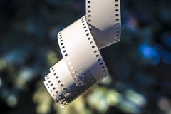 Film Strip Hanging Stock Image