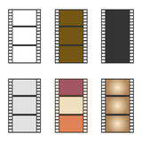 Film strip icon Royalty Free Stock Images