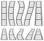 Film strip illustration for photography concepts. Set of several Royalty Free Stock Photo