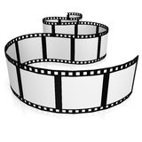 film strip. Image with hi-res rendered artwork that could be used for any graphic design Stock Images