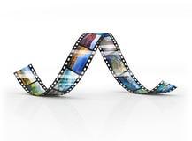 Film Strip. Isolated on white Royalty Free Stock Photo