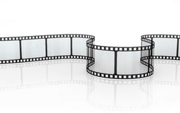 Film Strip. Isolated on white Royalty Free Stock Photography