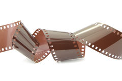 Film strip isolated on white background Royalty Free Stock Photography