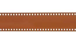 Film strip isolated on white background Stock Photos