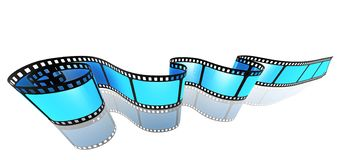 Film strip media concept image vector illustration